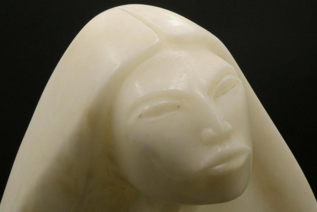Bruce LaFountain Alabaster Sculpture - 2