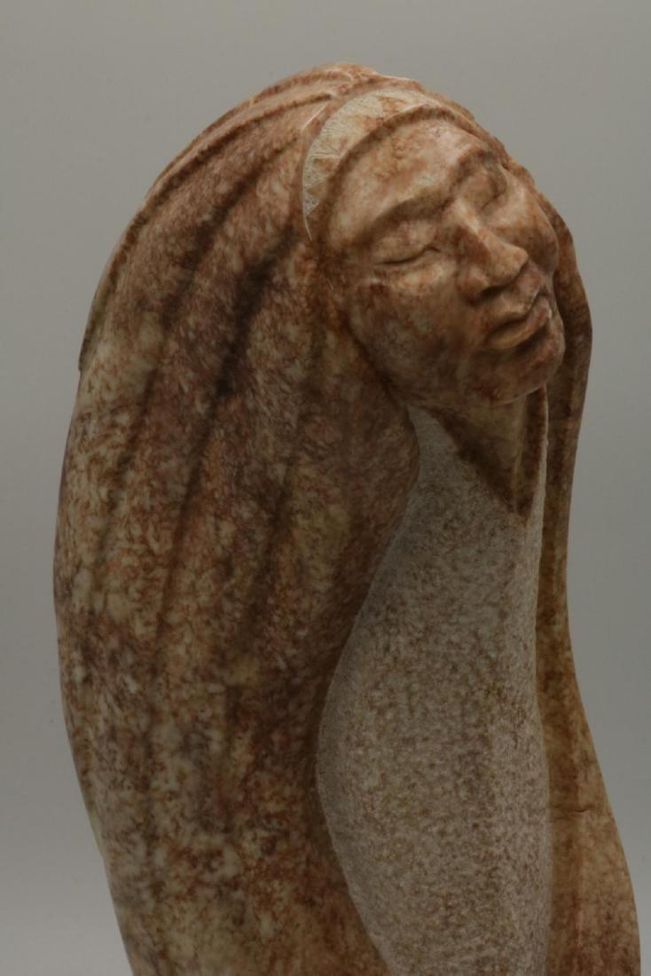 Signed Alaskan Marble Sculpture - 2