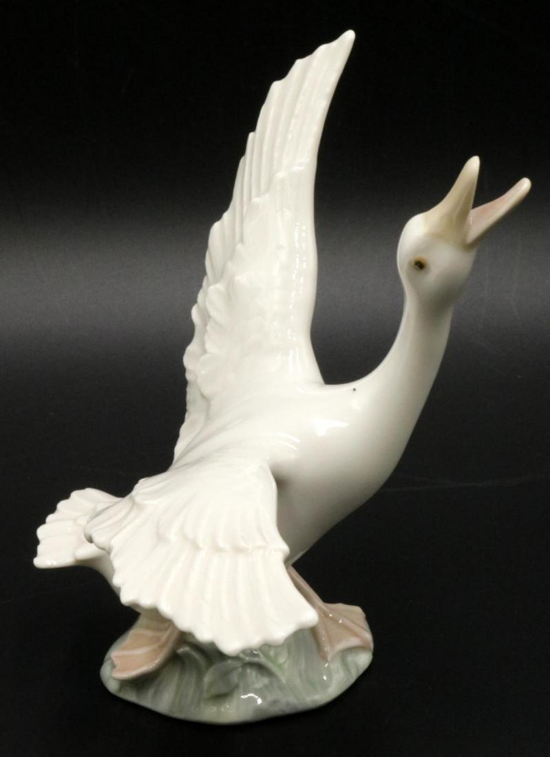 Lladro Porcelain Goose