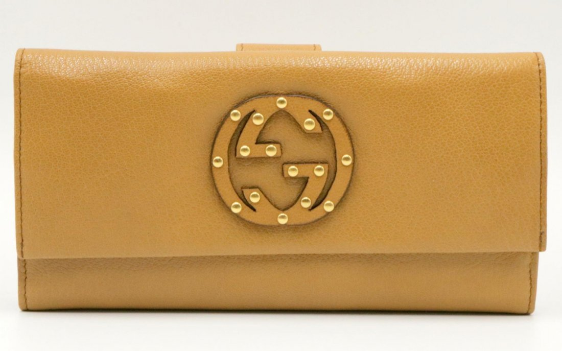 Gucci Brown Leather Ladies Billfold