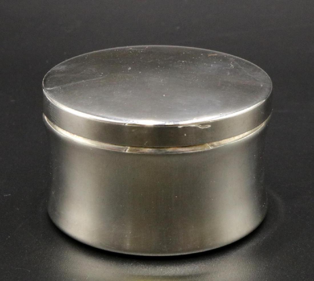 Tiffany & Co. Sterling Pill Box