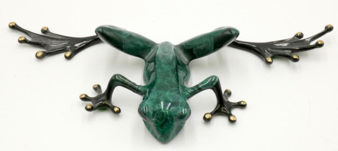 Tim Cotterill (British, B. 1950) Polychrome Bronze