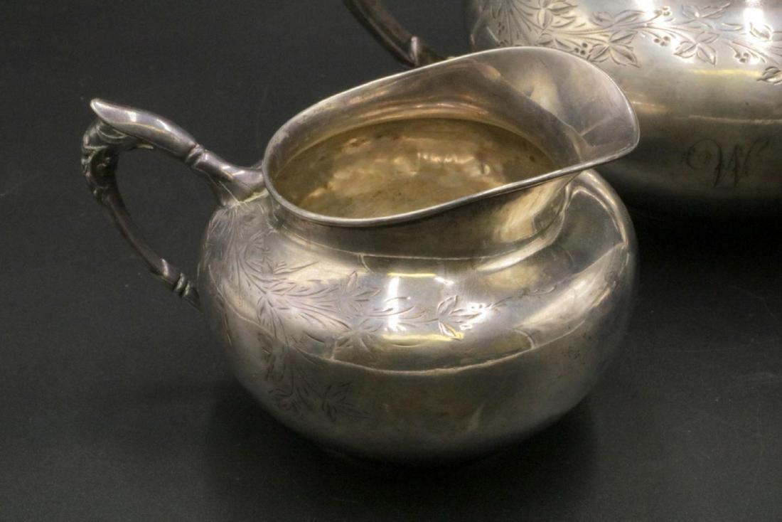 3 Pc. Gorham Sterling Silver Tea Set - 2