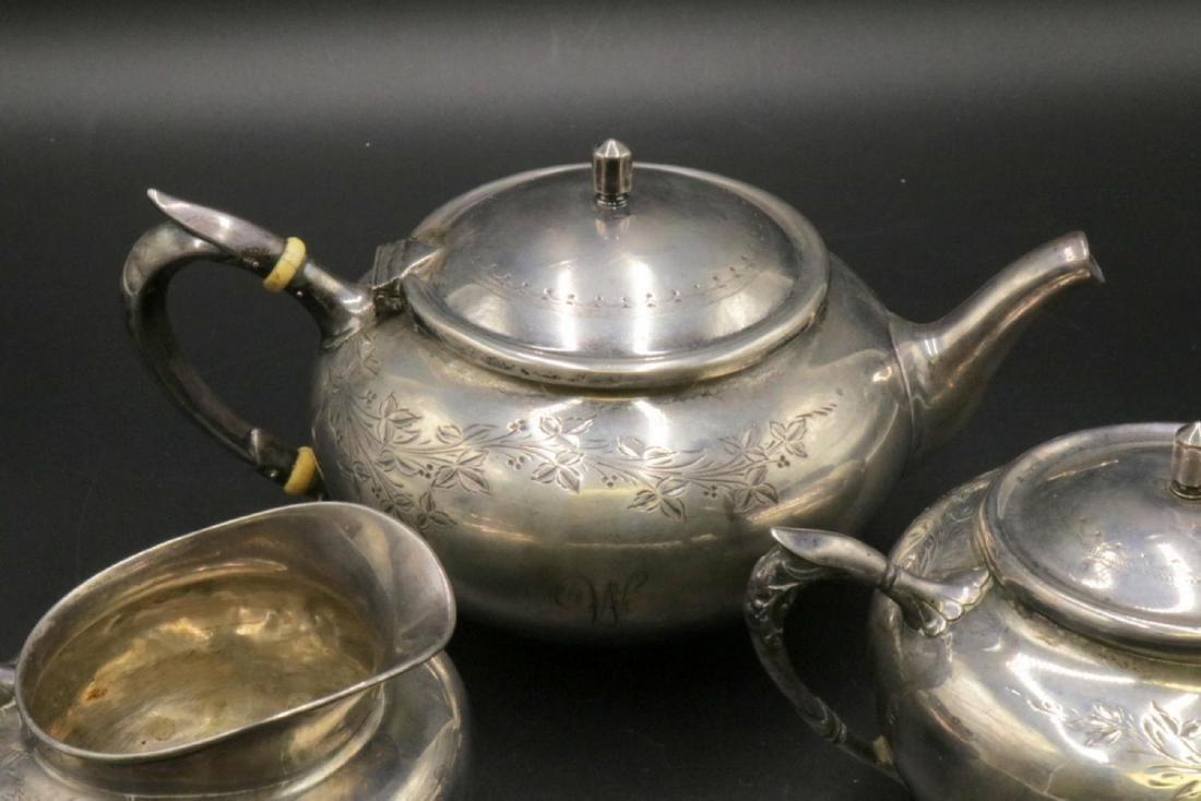 3 Pc. Gorham Sterling Silver Tea Set - 3