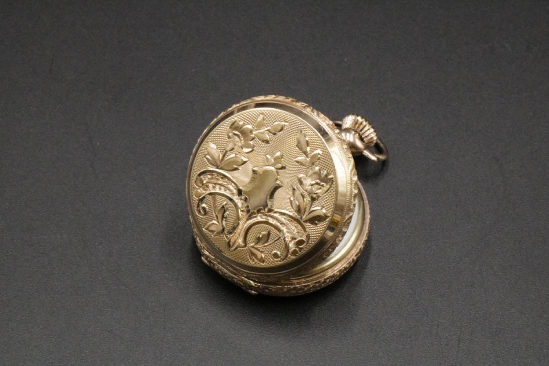 Antique Elgin 14Kt Pocket Watch - 2