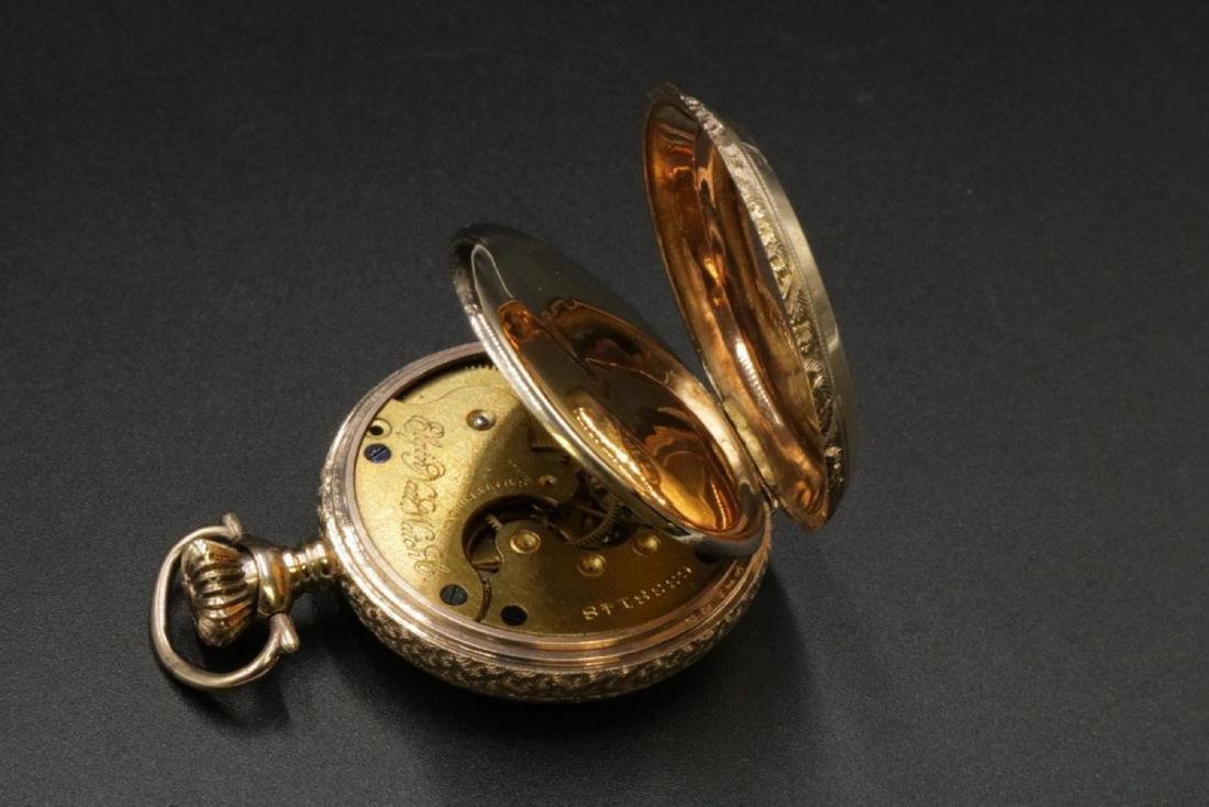 Antique Elgin 14Kt Pocket Watch - 3