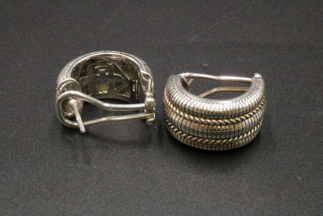Judith Ripka Sterling Silver Earrings - 2
