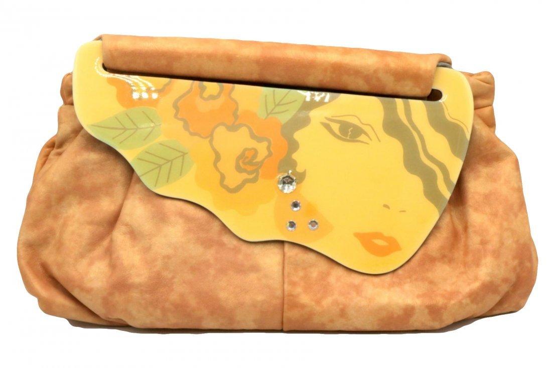 Patricia Smith Leather Moon Bag Purse