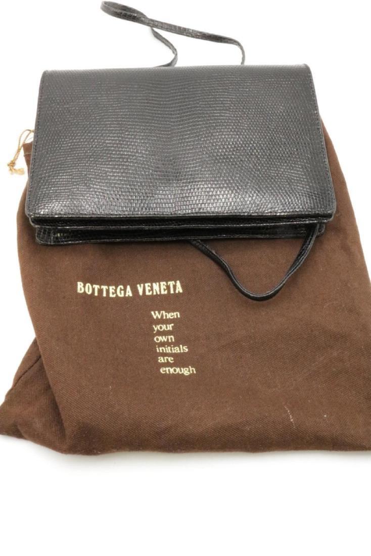 Bottega Veneta Black Lizard Clutch - 4