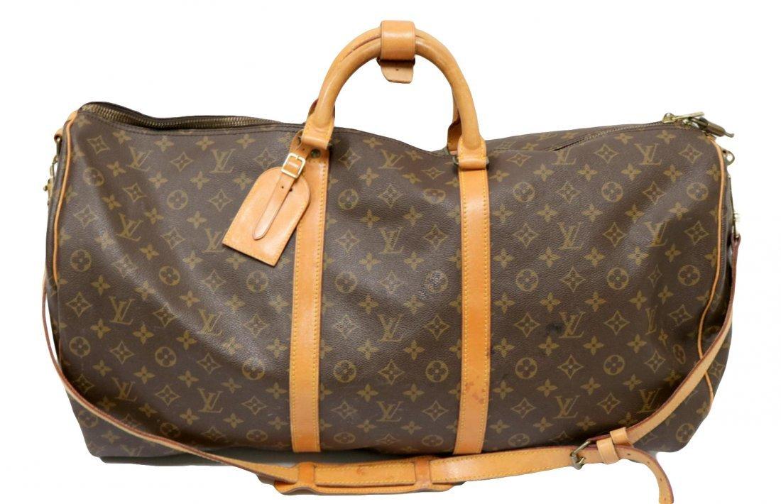 Louis Vuitton Canvas Duffle Bag
