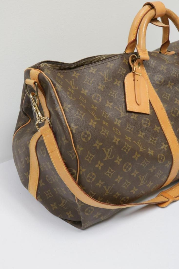 Louis Vuitton Canvas Duffle Bag - 2