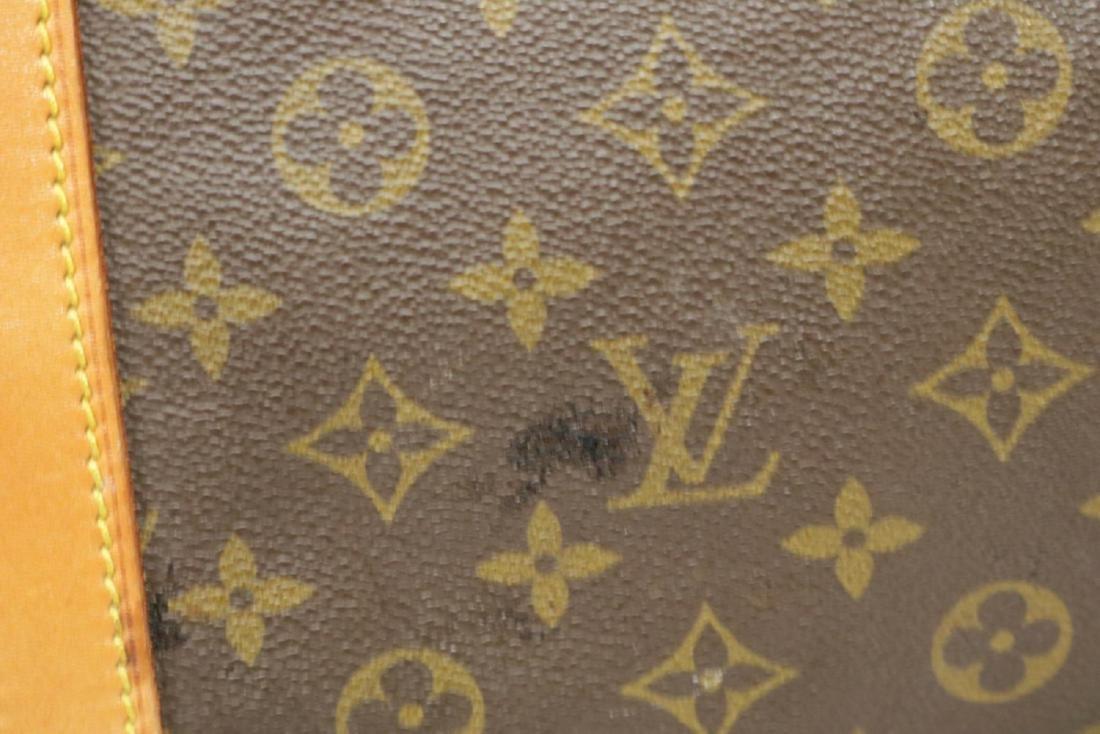 Louis Vuitton Canvas Duffle Bag - 5