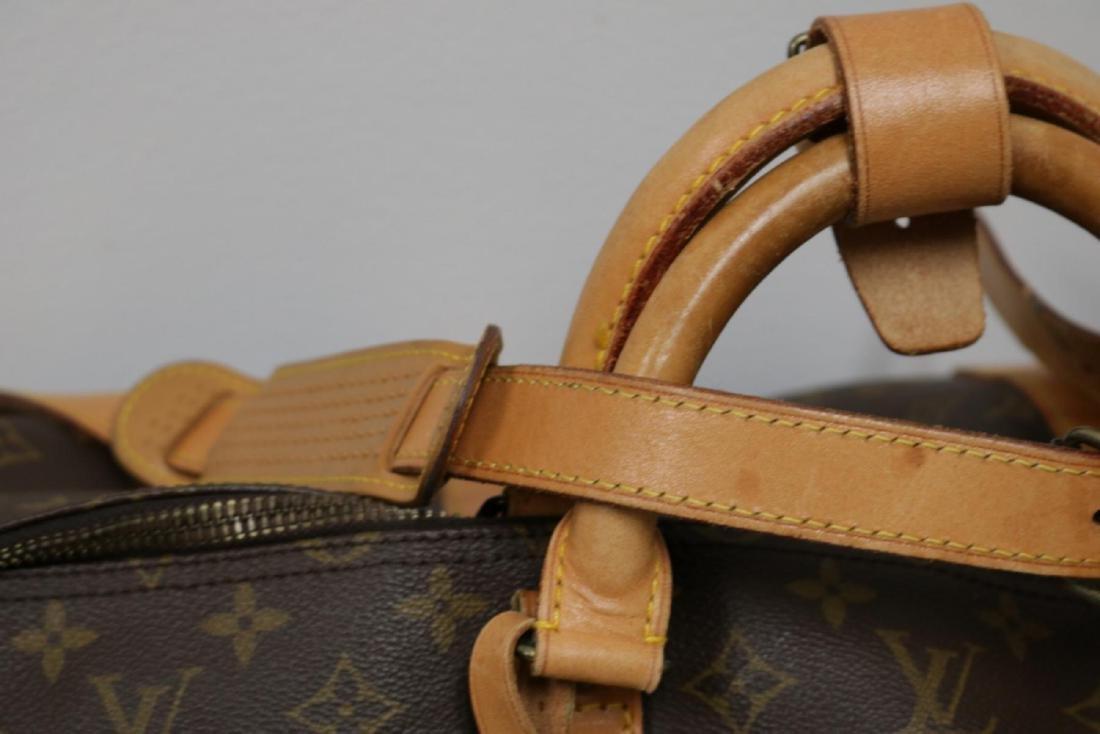 Louis Vuitton Canvas Duffle Bag - 6