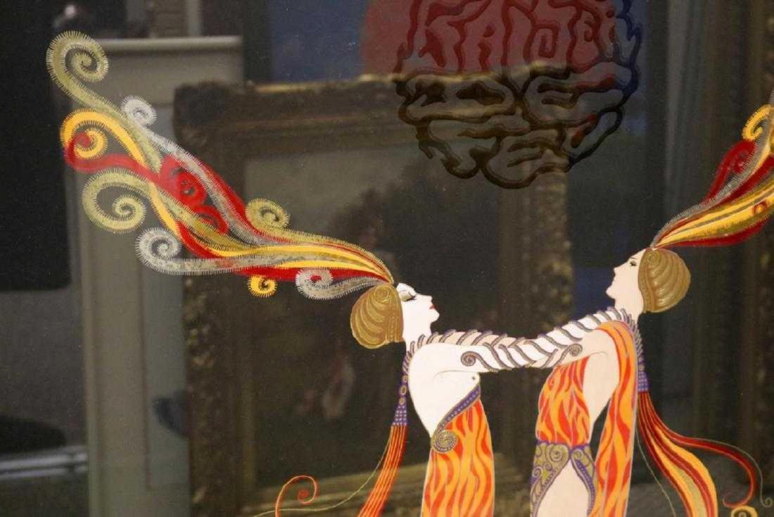 "Erte ""Kiss of Fire"" Serigraph - 2"