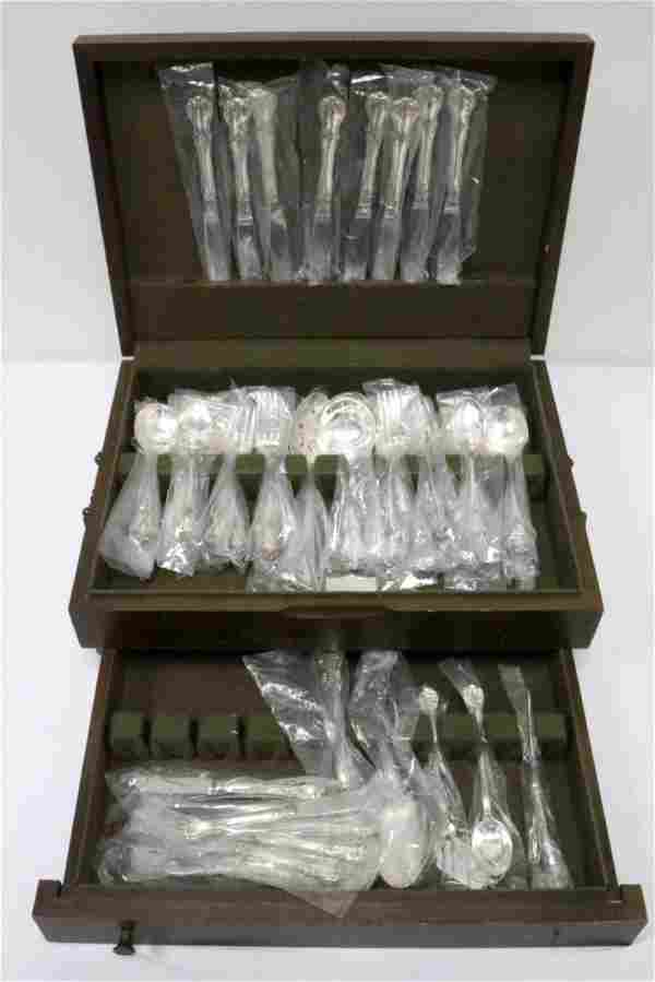 """57 Pc. Towle """"Old Master"""" Sterling Flatware Set"""
