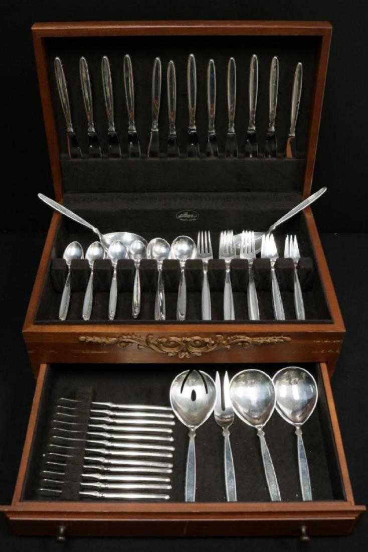 Furniture Symbol Of The Brand Royal Danish Gold By International Sterling Silver Flatware Set Service Vermeil