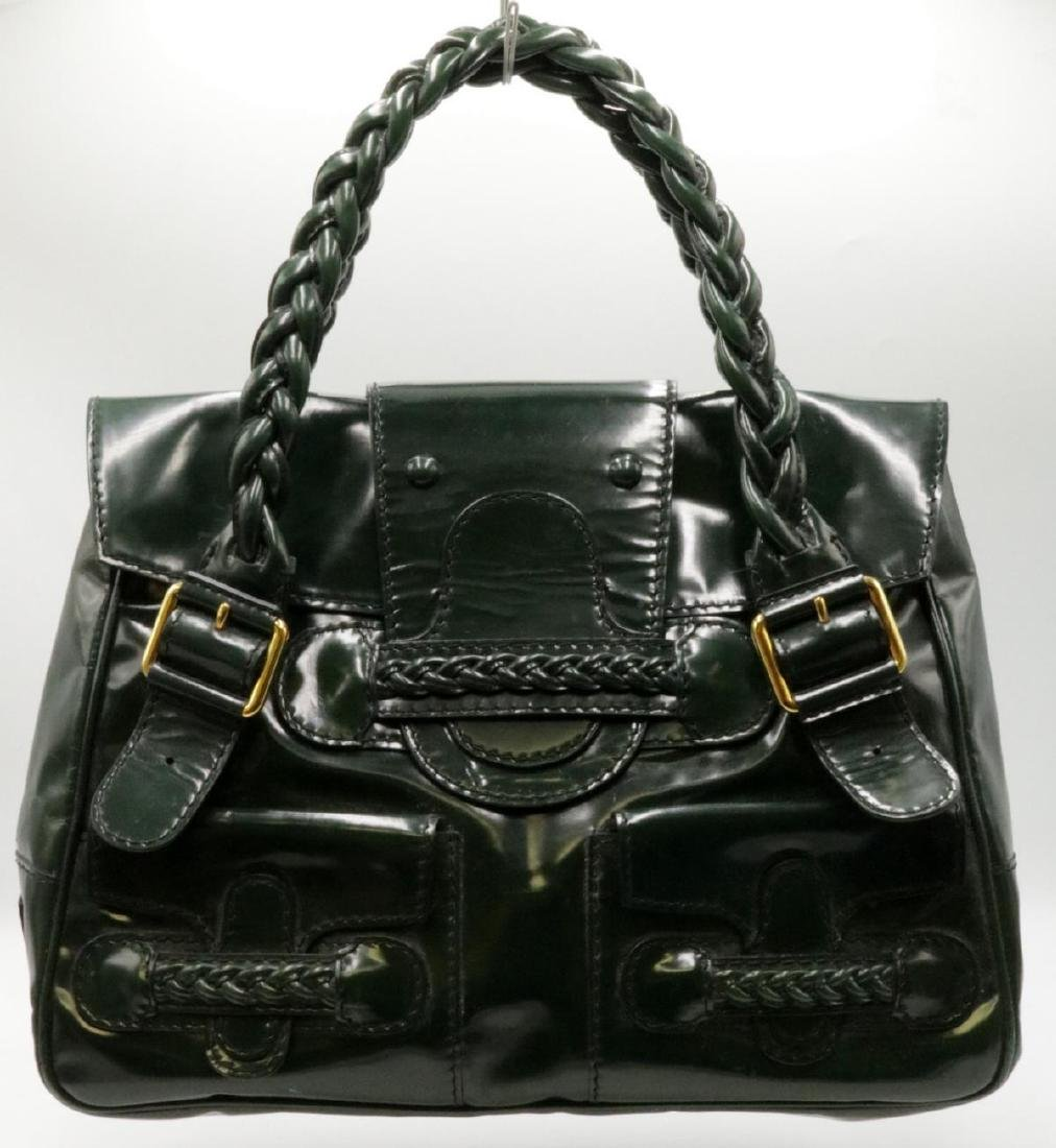 d3f593f5a6b Valentino Patent Leather Histoire Satchel - Feb 04, 2019 | Antiques & Art  International in FL