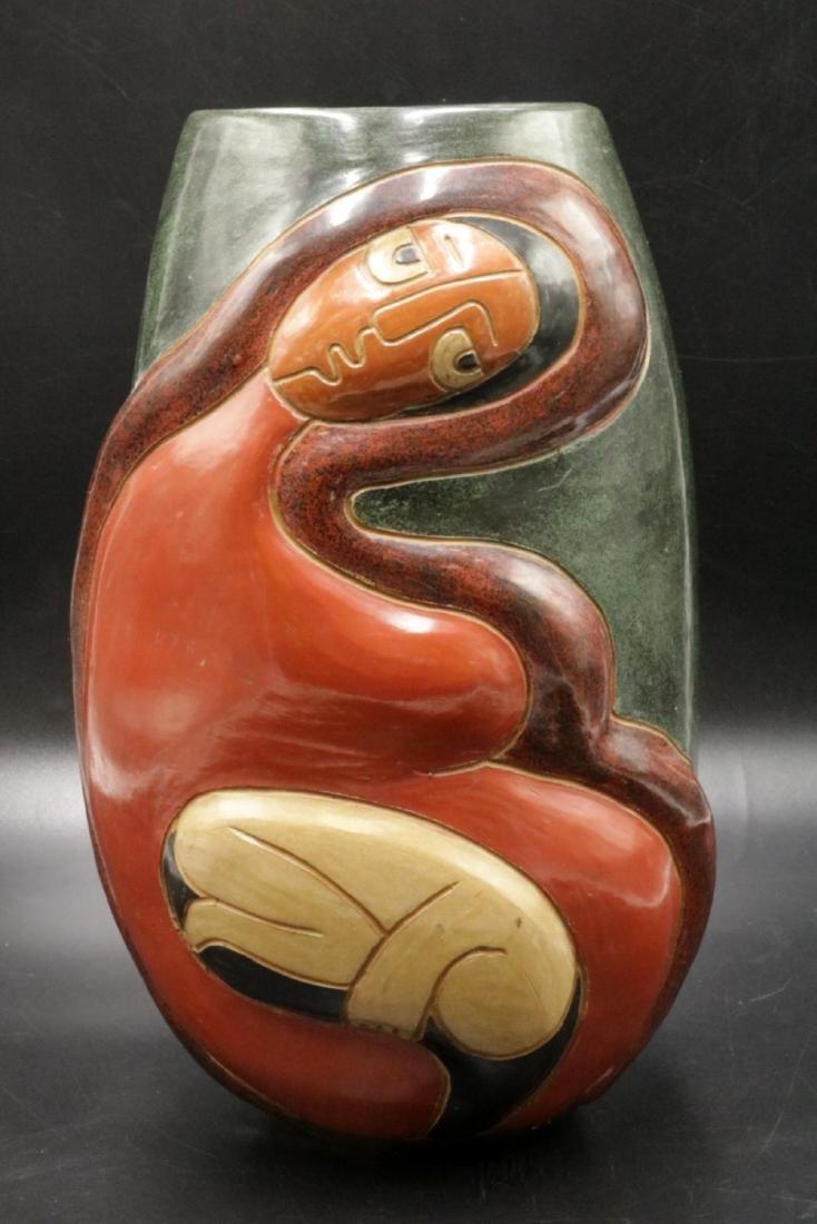 Vladimir Noron Pottery Vase