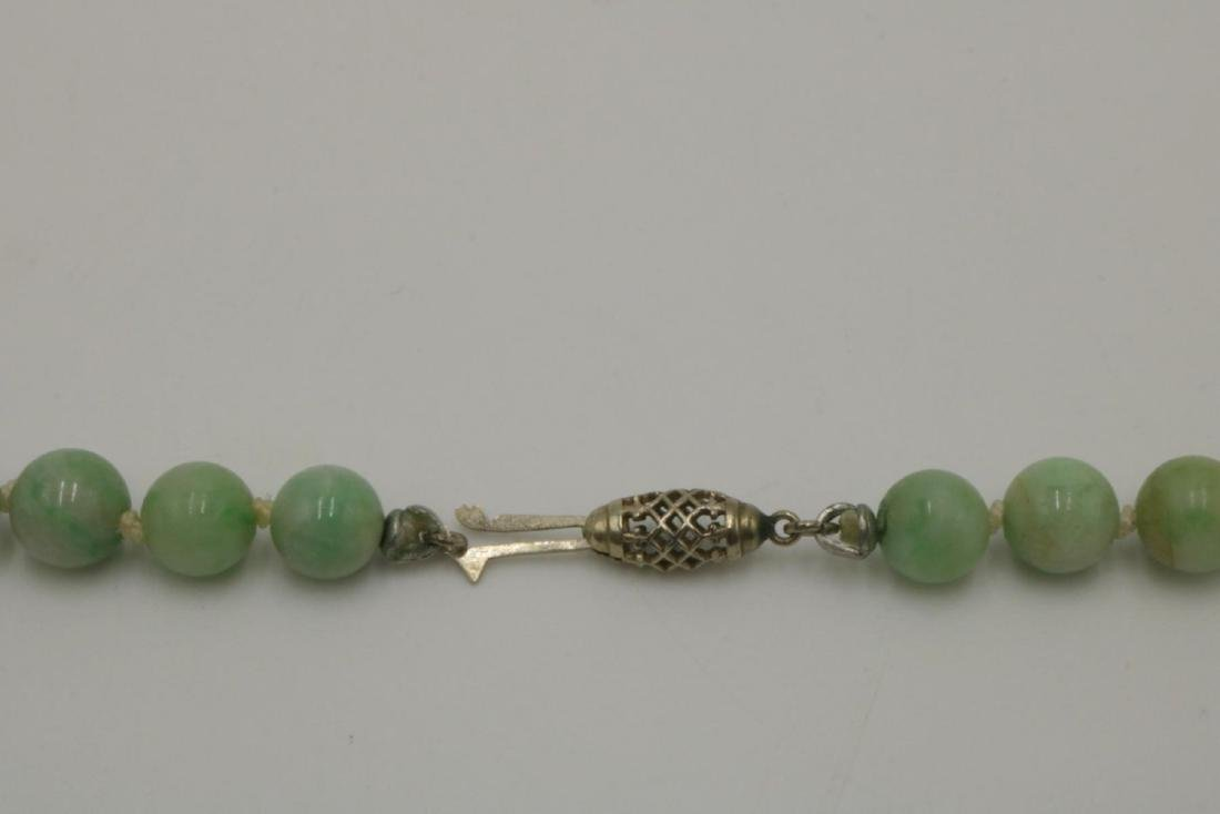 14Kt Jaded Beaded Necklace - 3
