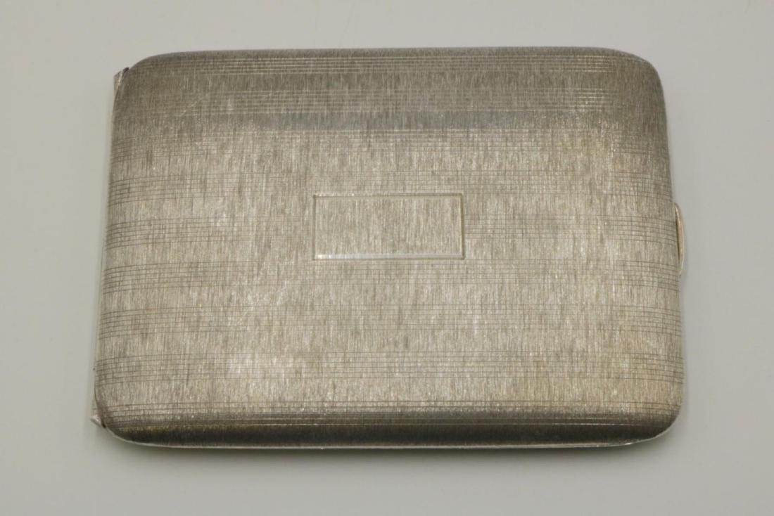 Napier Sterling Silver Cigarette Case