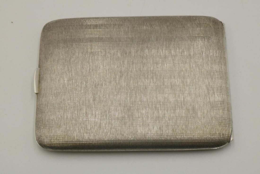 Napier Sterling Silver Cigarette Case - 2