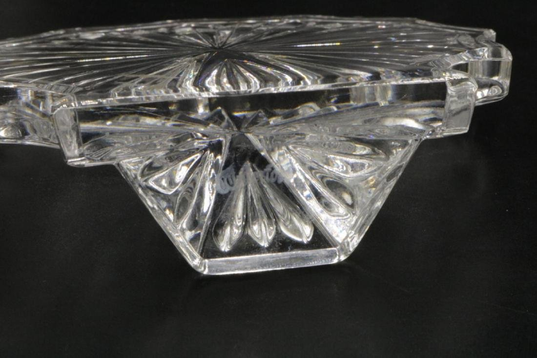 2 Pc. Waterford & France Crystal Paperweights - 2