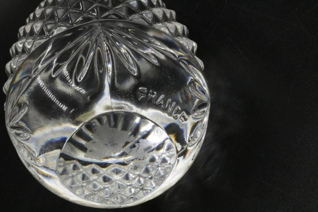 2 Pc. Waterford & France Crystal Paperweights - 3