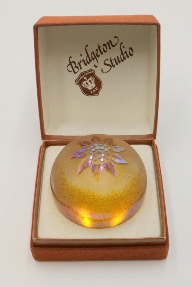 Bridgeton Studio Art Glass Paperweight