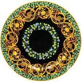 "Rosenthal Versace ""Gold Ivy"" Porcelain Charger"