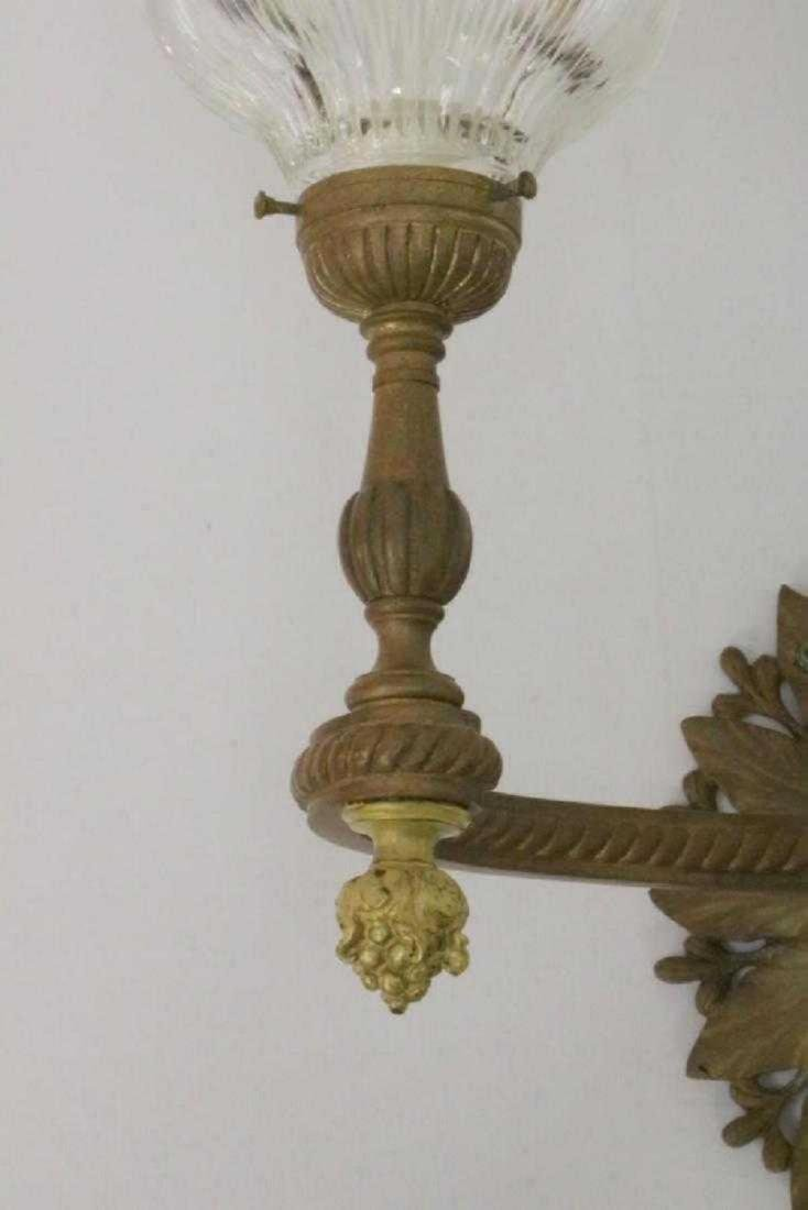 Louis XVI Style Bronze 2-Light Wall Sconce - 3