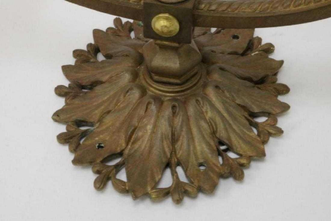 Louis XVI Style Bronze 2-Light Wall Sconce - 4
