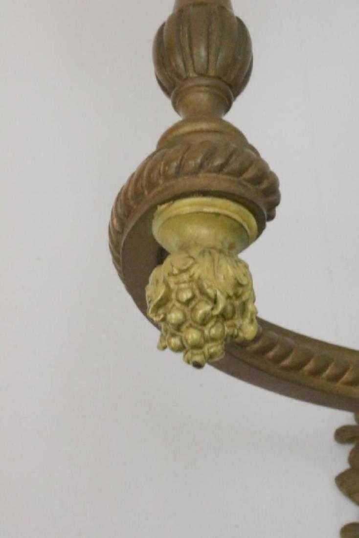 Louis XVI Style Bronze 2-Light Wall Sconce - 5