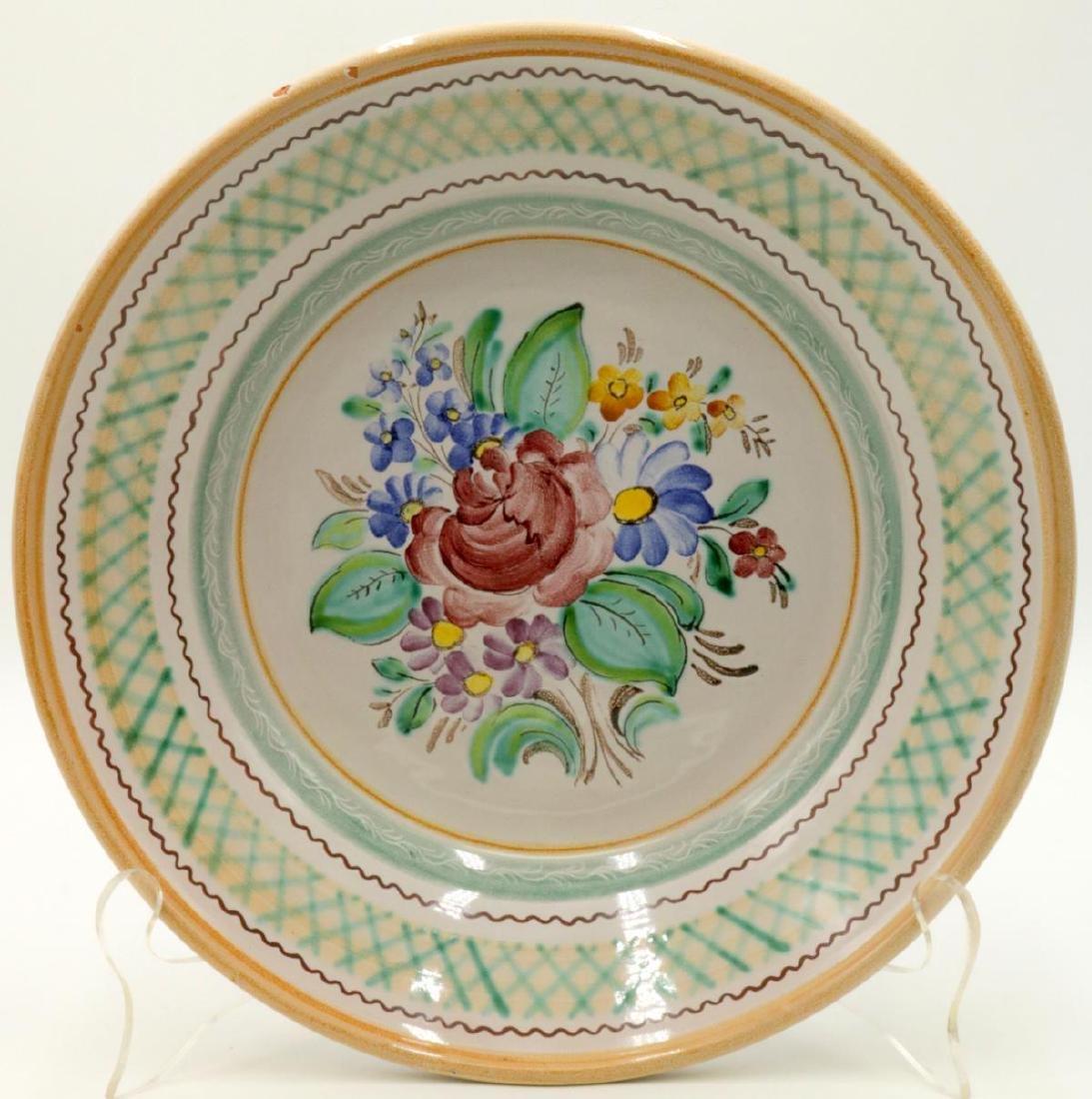 Gmunder Keramik Austrian Pottery Charger