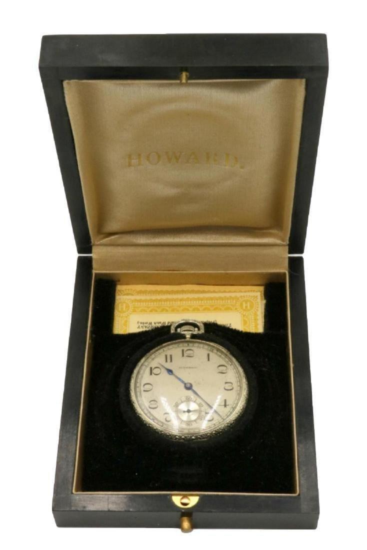 Rare E. Howard & Co. 18Kt Pocket Watch