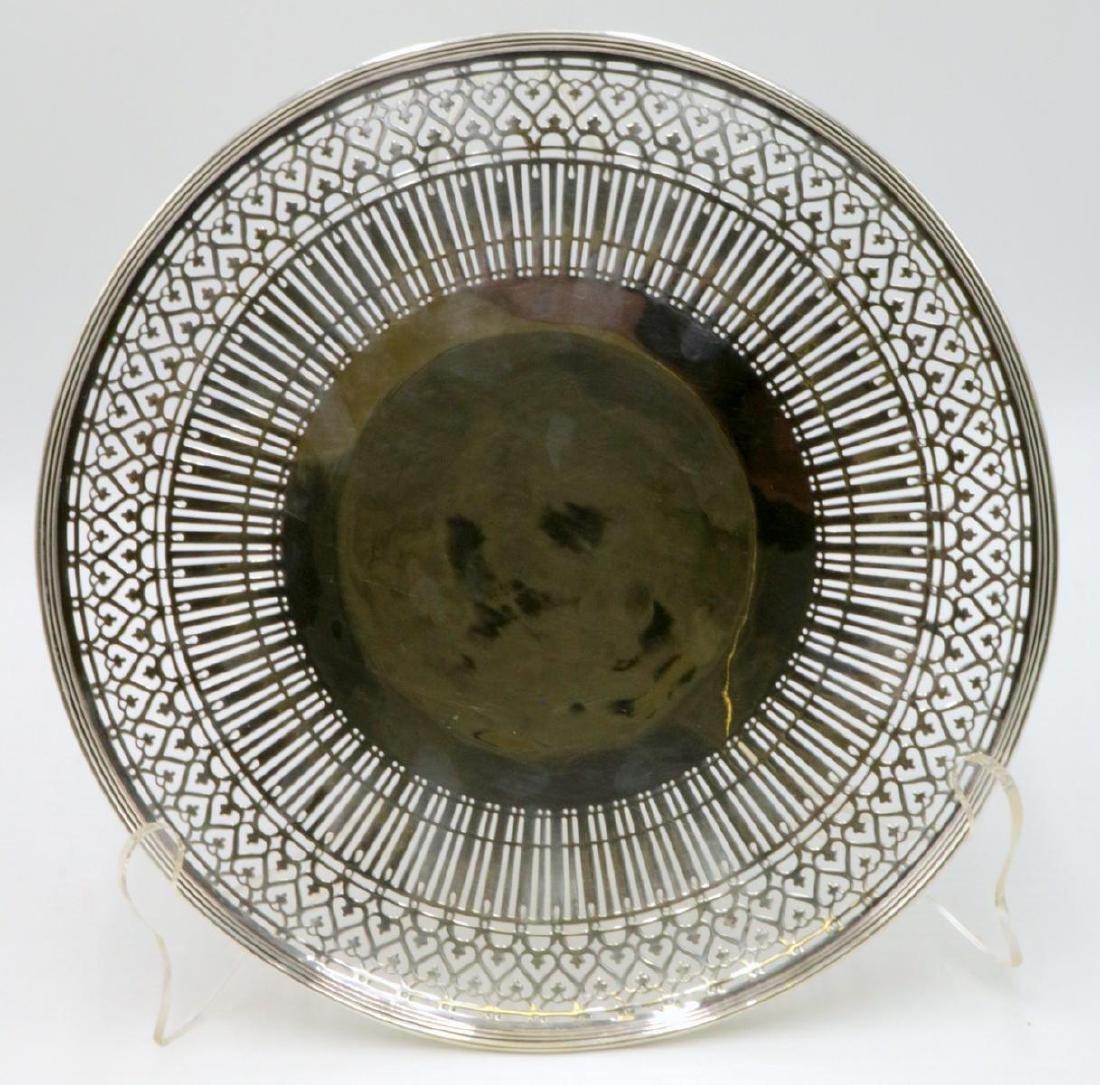 Tiffany & Co. Pierced Sterling Silver Tray