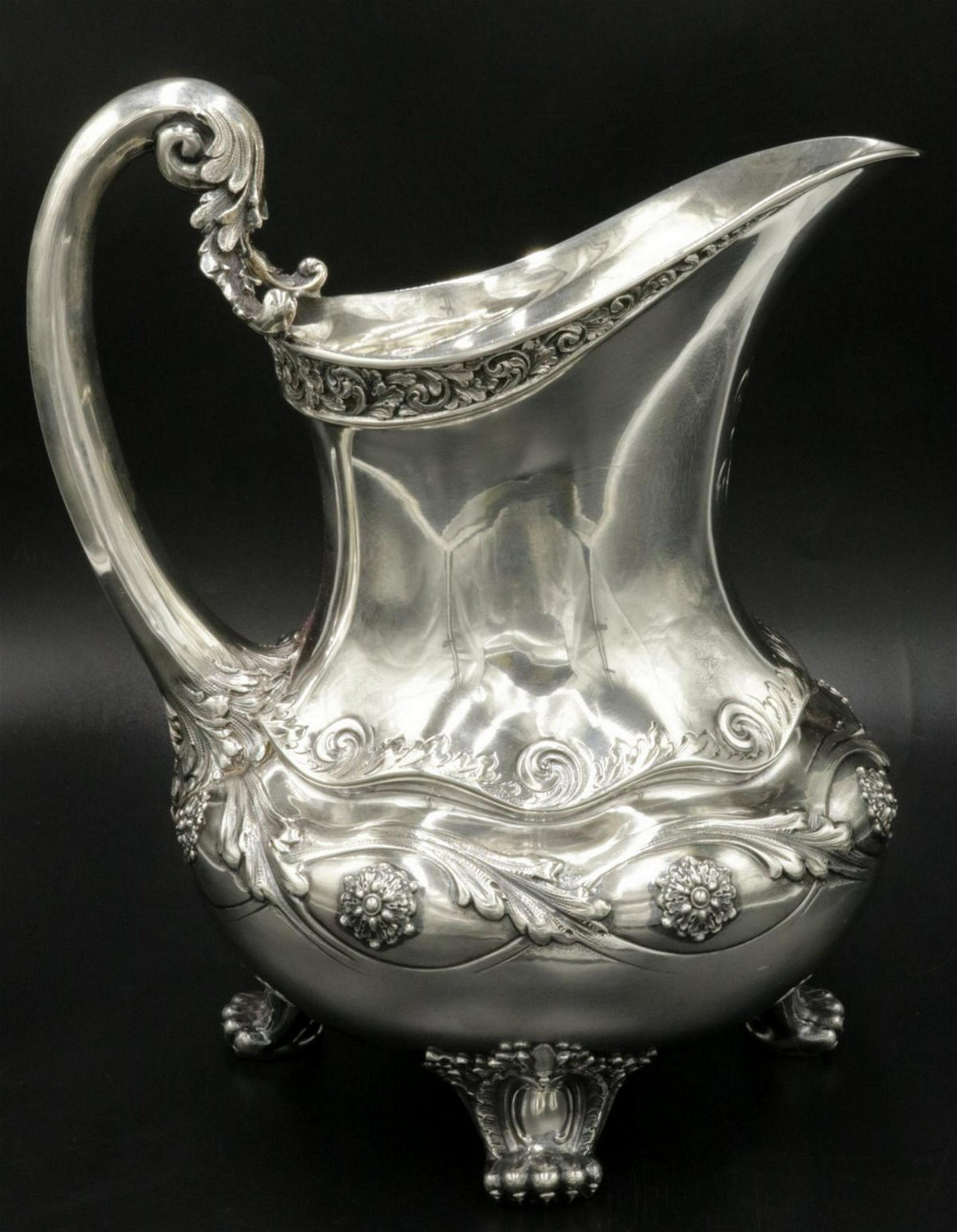 Rare Tiffany & Co. Sterling Silver Pitcher