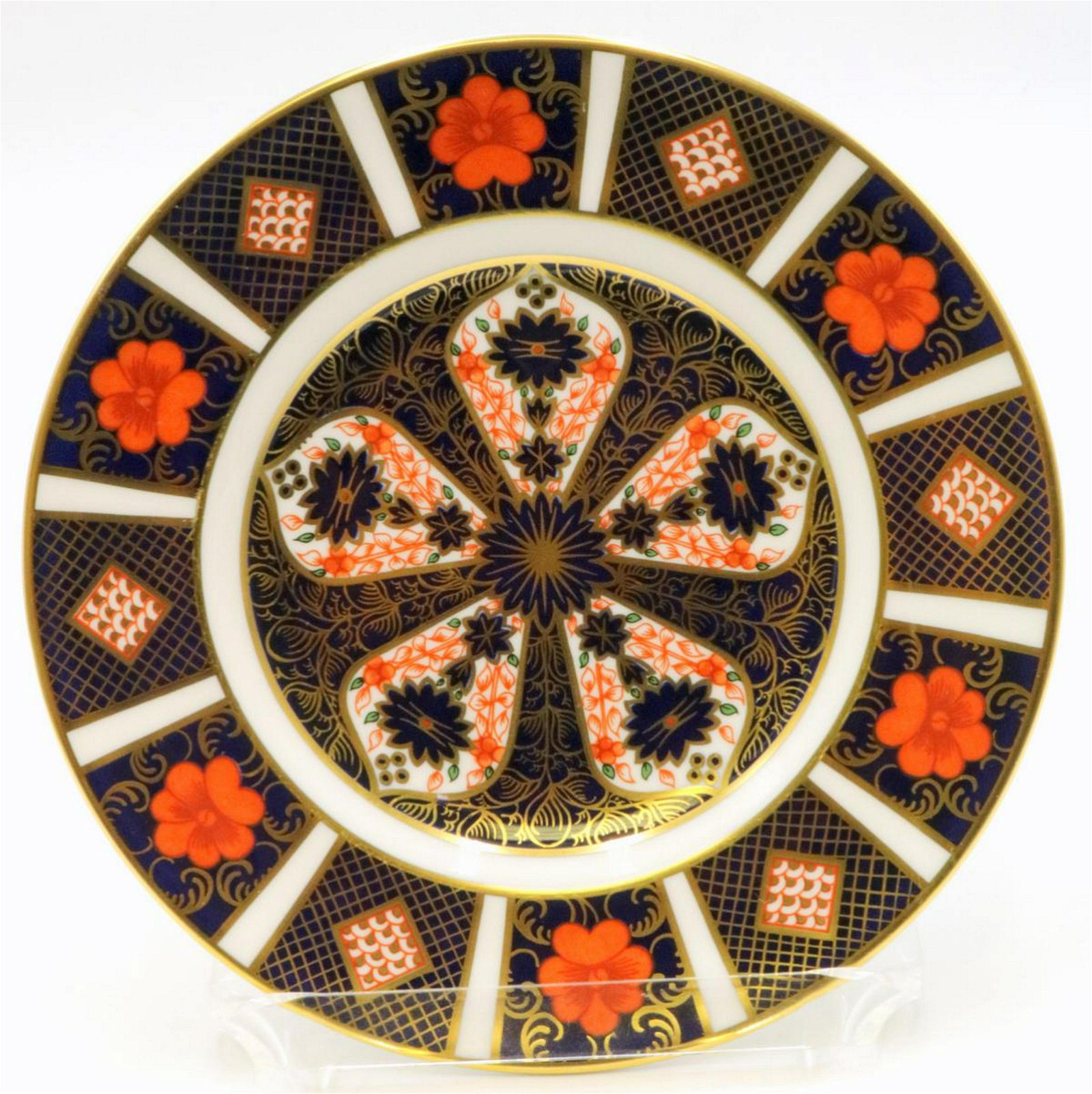 """12 Royal Crown Derby """"Old Imari"""" Bread & Butter Plates"""