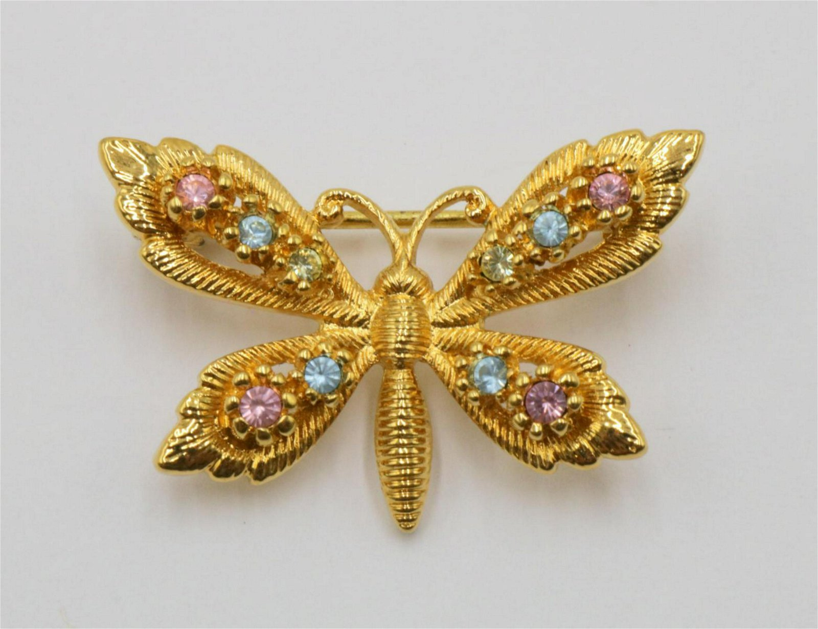 Swarovski Butterfly Pin