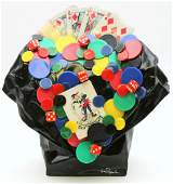 "Tom Pergola ""Take a Chance on Me"" Acrylic Sculpture"