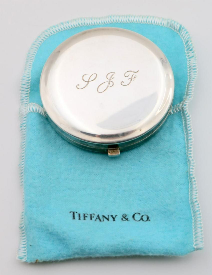 Vintage Tiffany & Co. Sterling Compact
