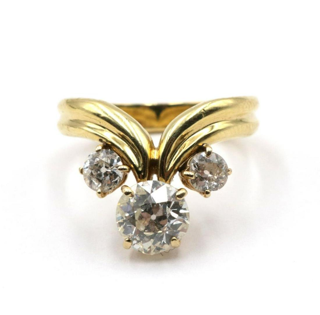 Fabulous 18Kt & Diamond Ring