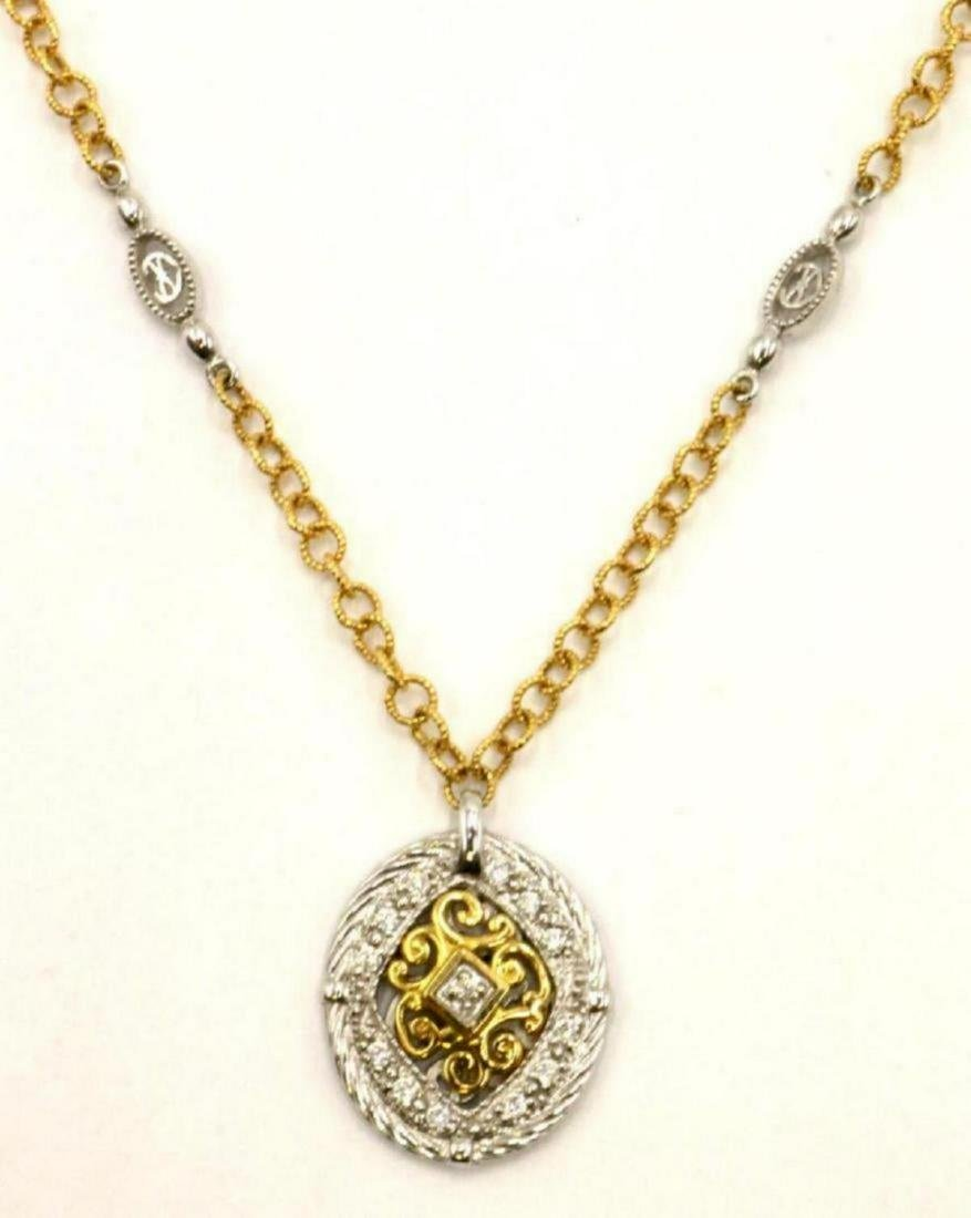 Charroil 18Kt Two-Tone Diamond Necklace