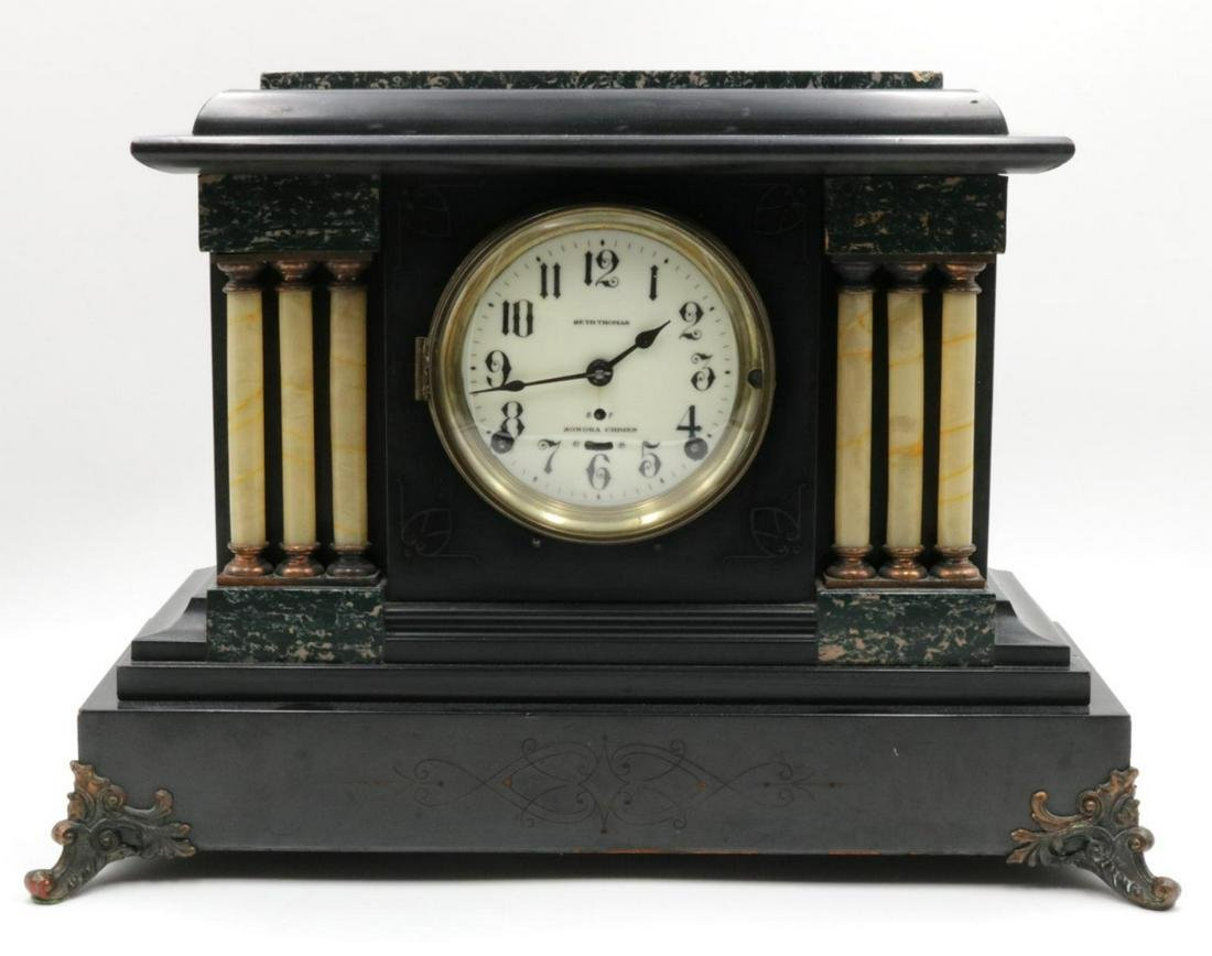 Antique Seth Thomas Mantel Clock
