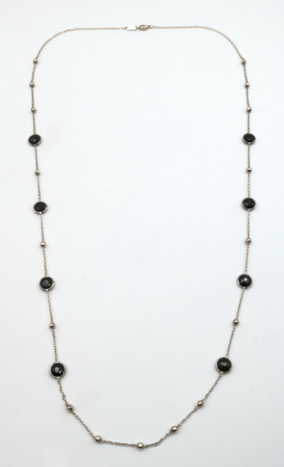 Ippolita Black Onyx & Sterling Necklace
