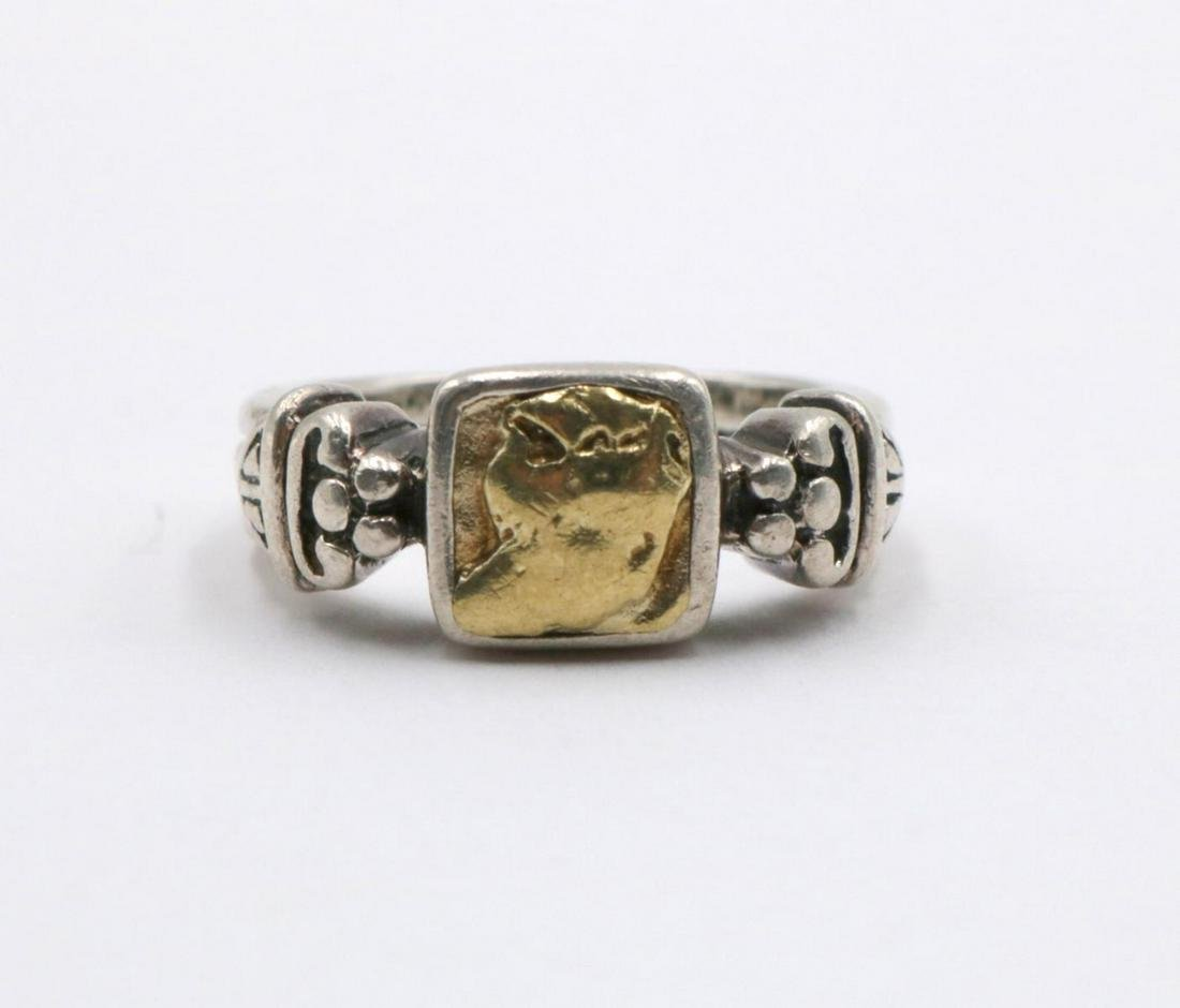 Fred Paris 18Kt & Sterling Ring