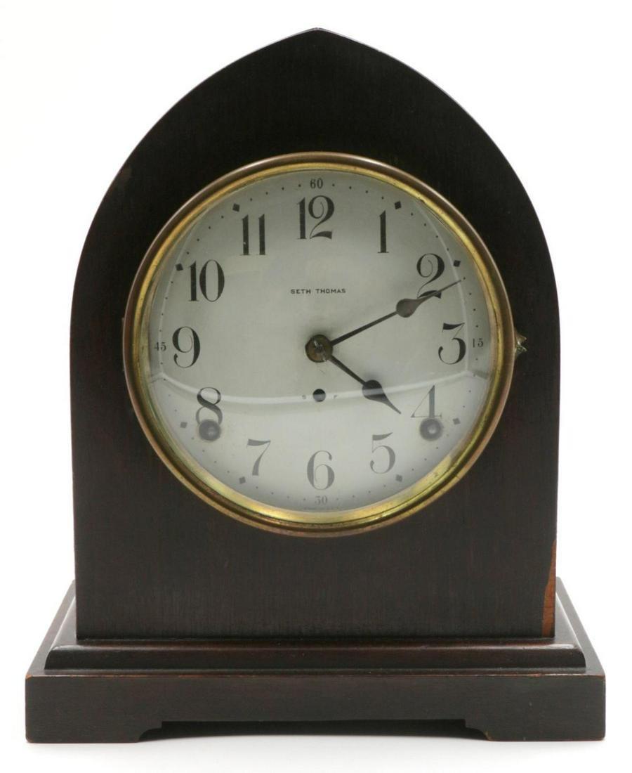 Antique Seth Thomas Wooden Clock