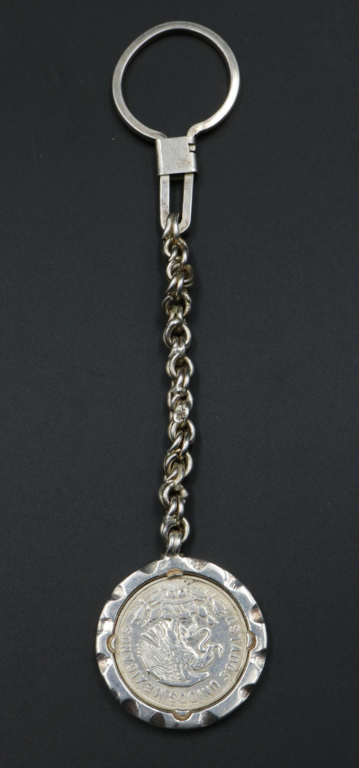 Mexican Sterling Silver Key Chain