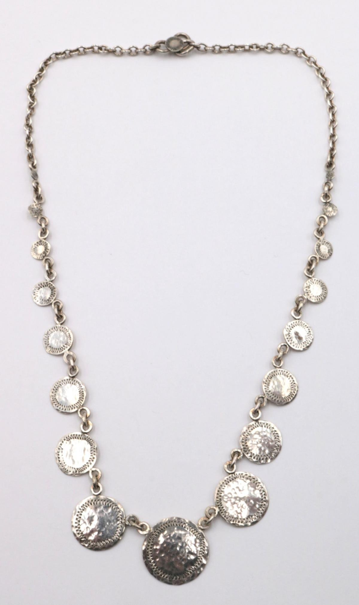 Ron Liz Sterling Silver Necklace