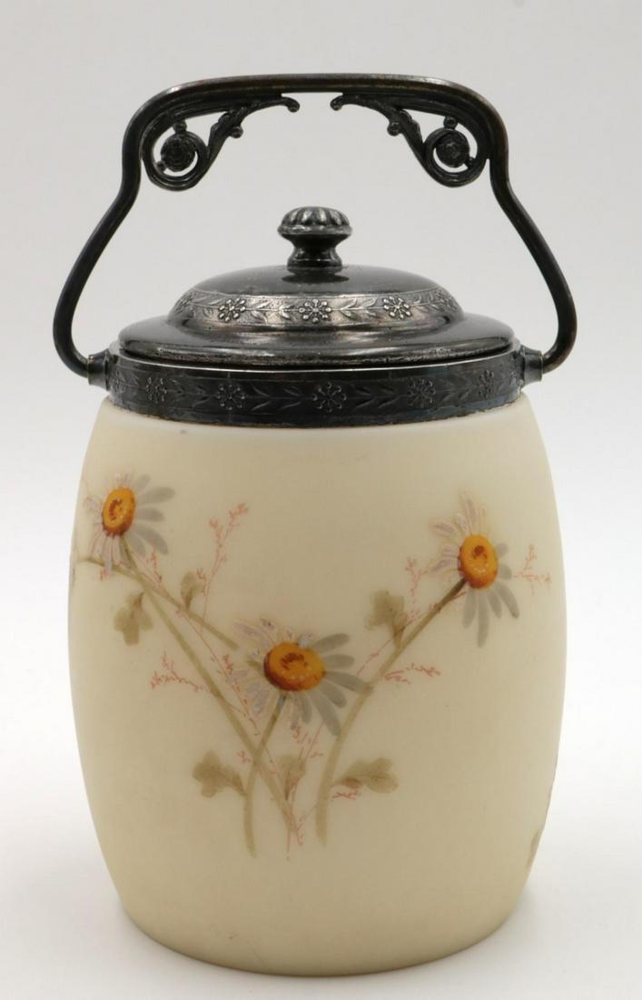 Antique Pairpoint Biscuit Jar