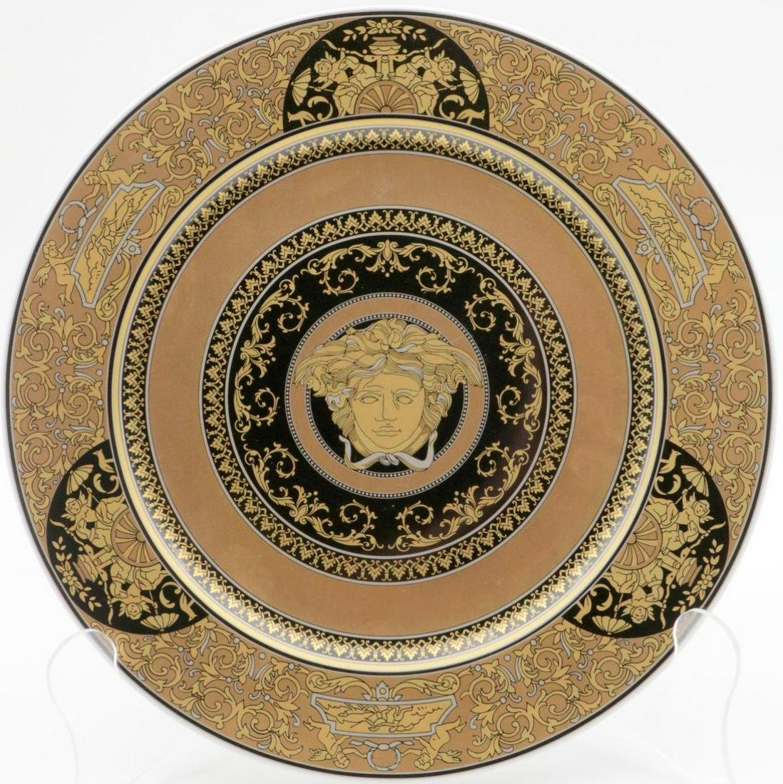 "Rosenthal Versace ""Arcadia 2003"" Porcelain Charger"